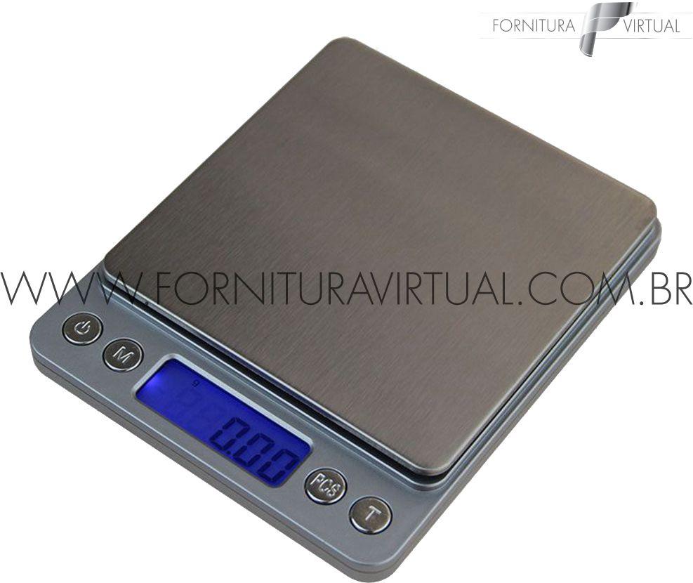 Balança Eletrônica - 500g/0.01g