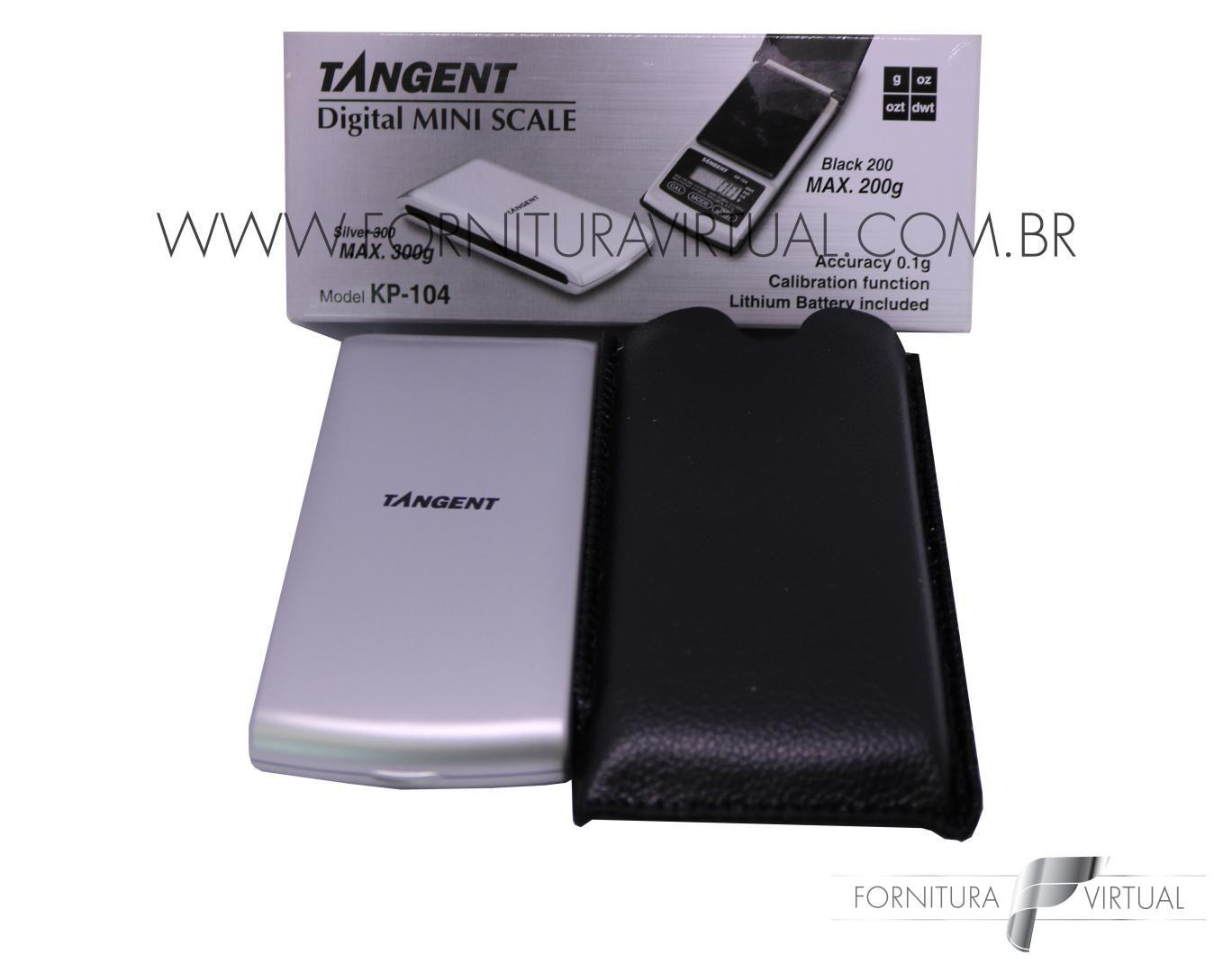 Balança Tangent KP104 Silver - 300g/0.1g