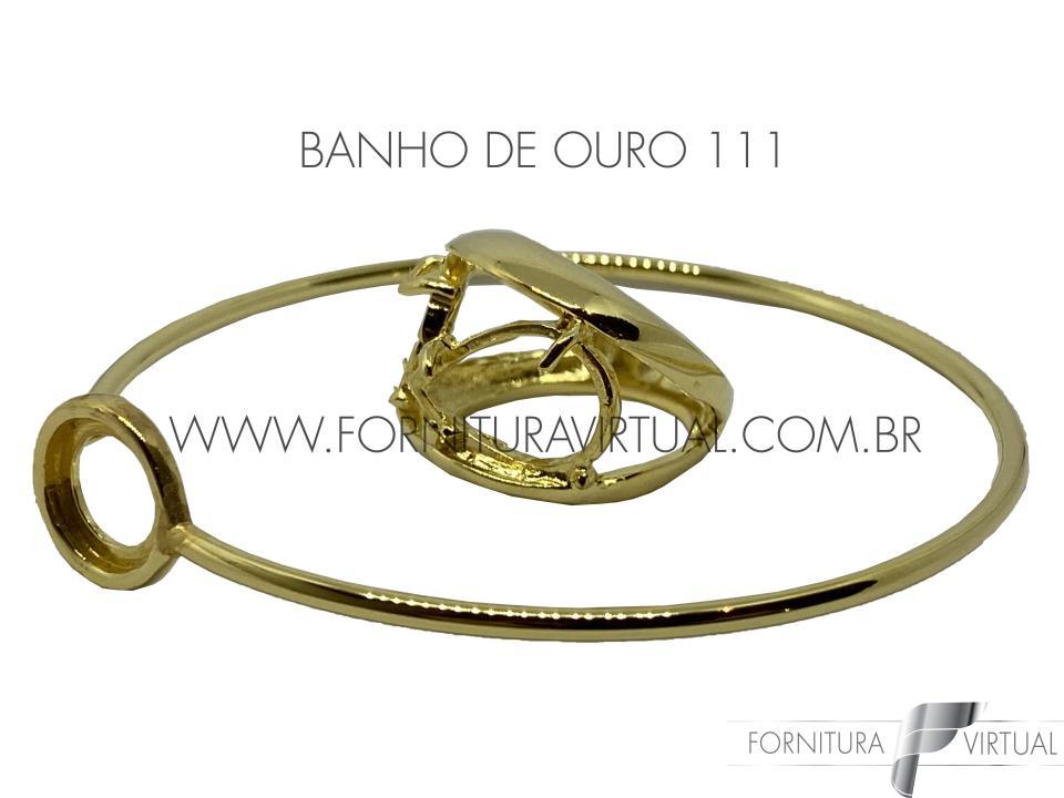 Banho de ouro - Cor/tonalidade Auruna 111