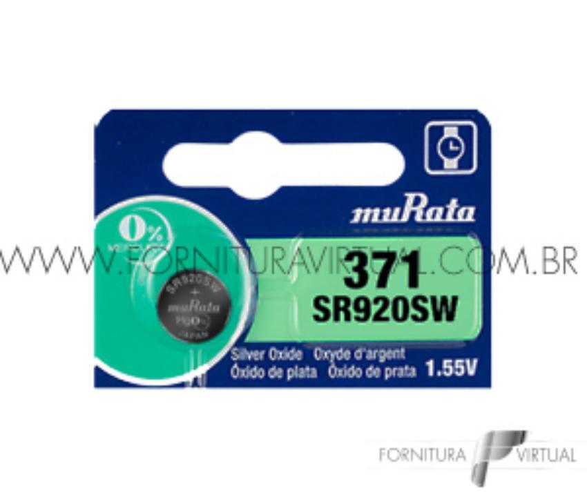 Bateria 371 Murata/Sony - (Valor unitário)