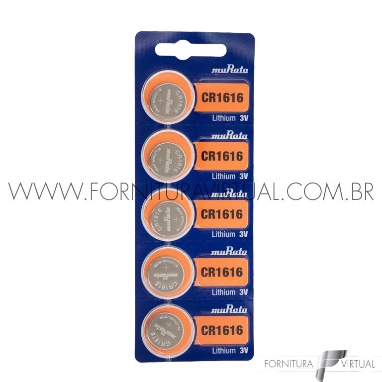 Bateria CR1616 Murata/Sony - (Valor unitário)