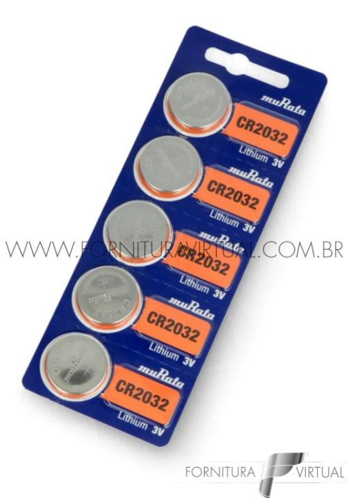 Bateria CR2032 Murata/Sony - (Valor unitário)