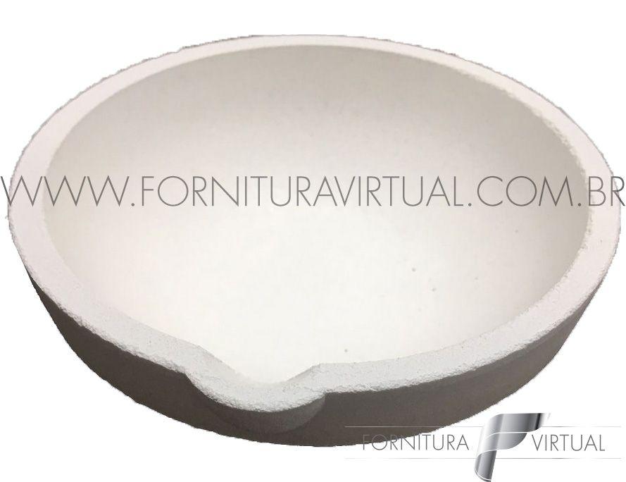 Cadinho Redondo de Cerâmica nº 10