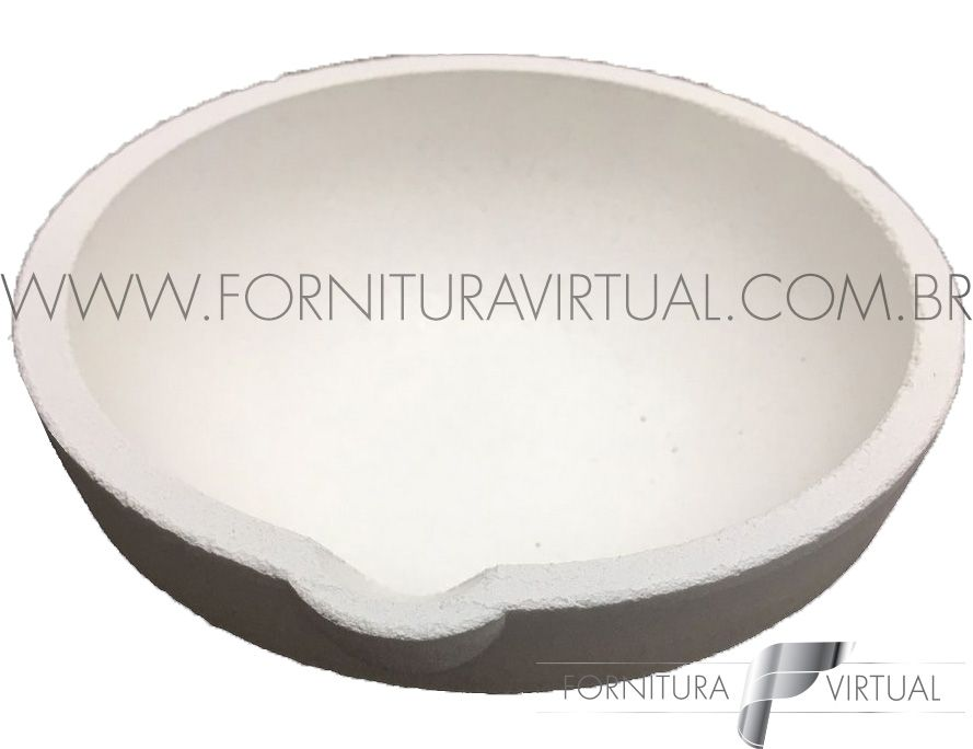 Cadinho Redondo de Cerâmica nº 30