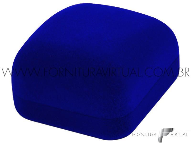 Caixinha de Veludo Azul para Anel - 77126