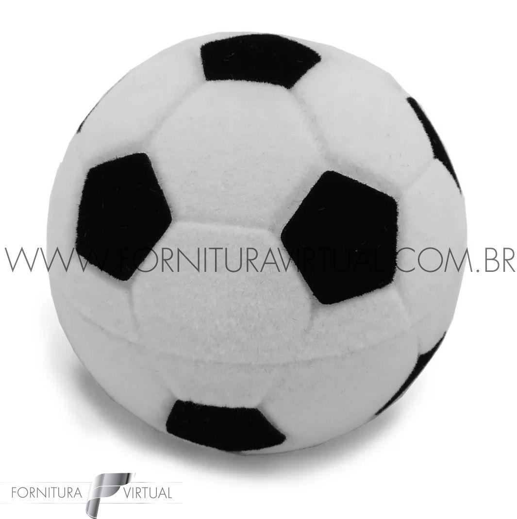 Caixinha de Veludo Bola de Futebol