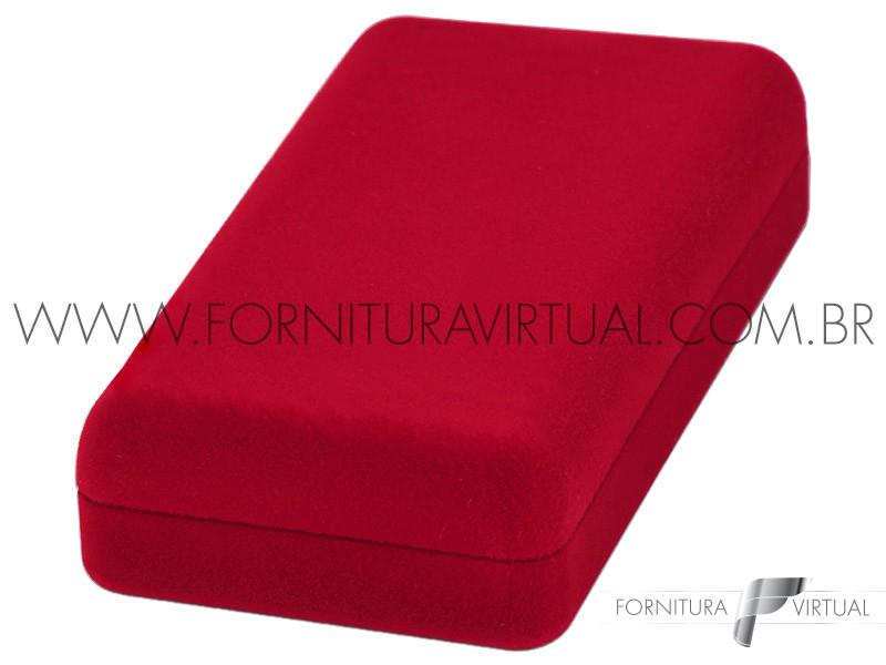 Caixinha de Veludo Vermelha Universal - 67254