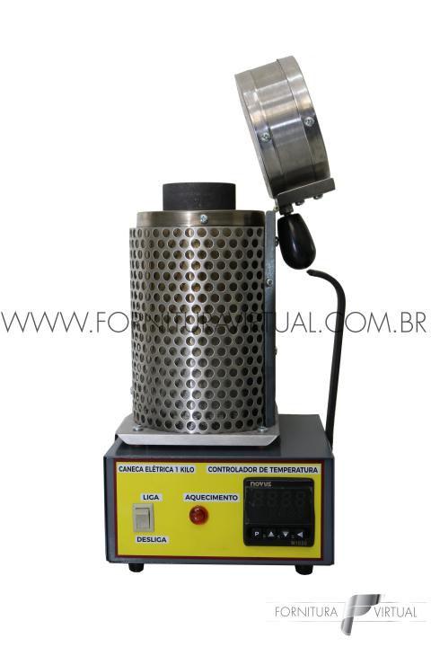 Caneca Elétrica para Derreter Metais - 1KG - SJ