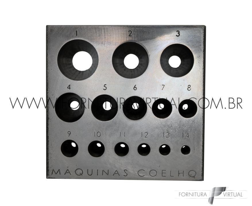 Chatoneira e Punções - Modelo 2 - Máquinas Coelho