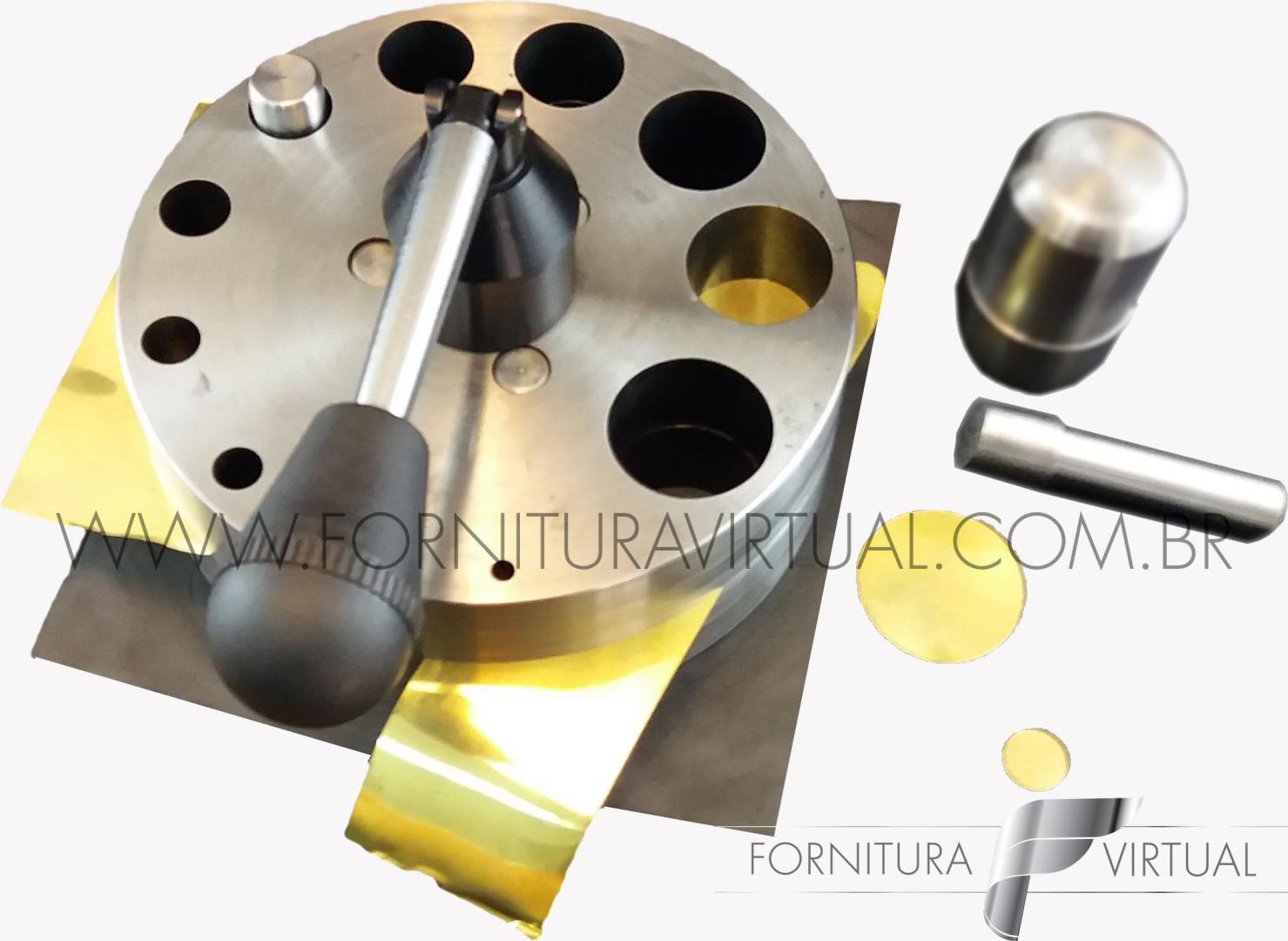 Conjunto Cortador de discos/circulos - Máquinas Coelho
