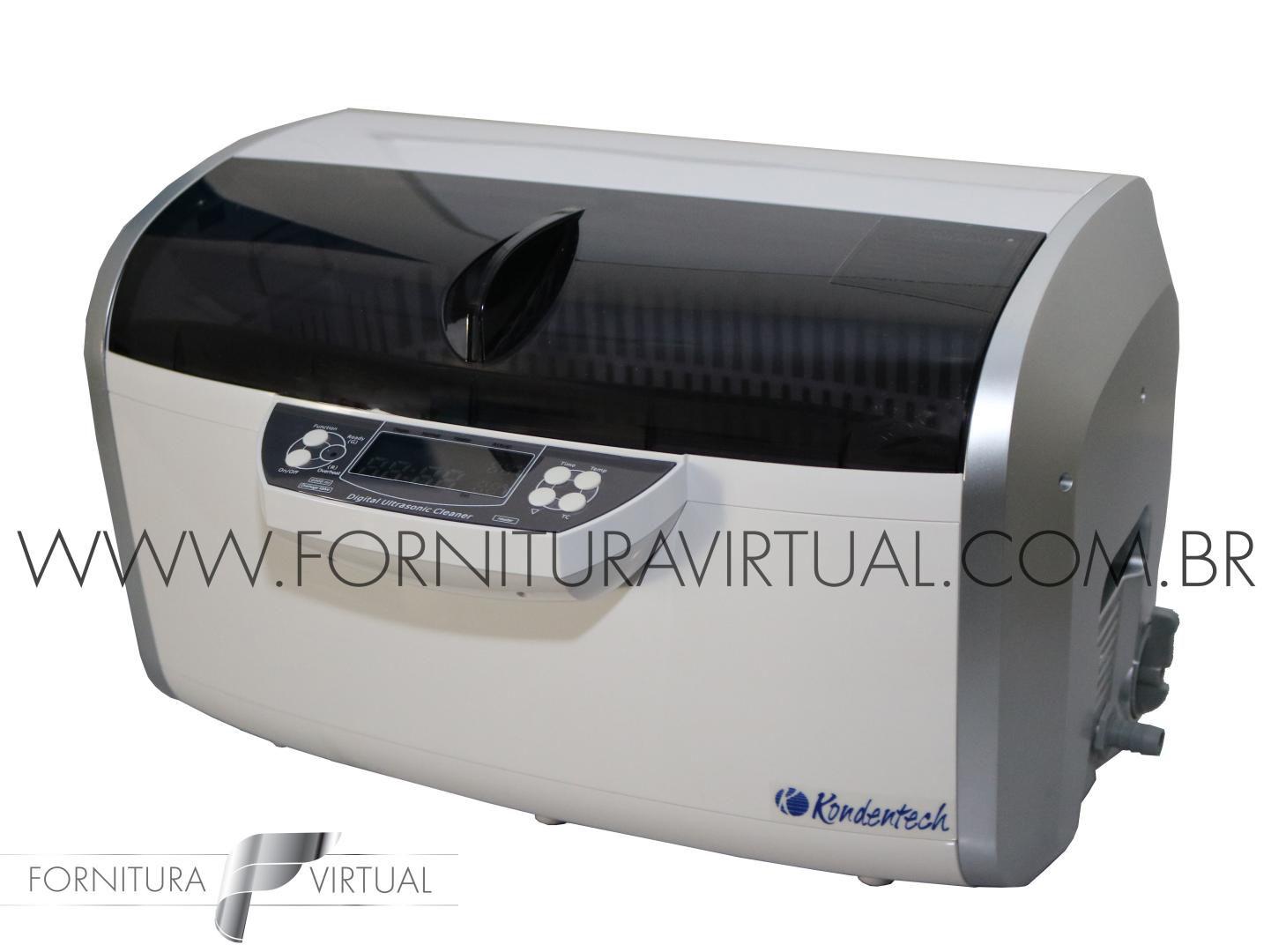 Cuba Lavadora Ultrassônica Digital Kondentech - CD-4860