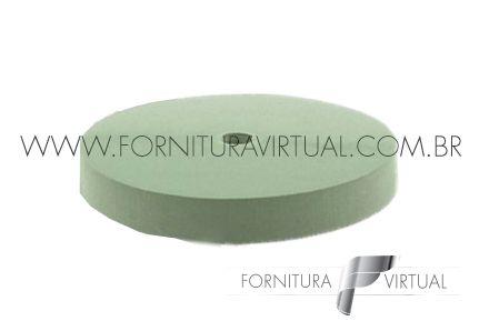 Disco abrasivo de silício - Verde Reto 7456