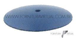 Disco abrasivo de silicone - Azul Escuro Faca