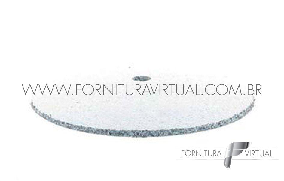 Disco abrasivo de silicone - Branco Faca 7110