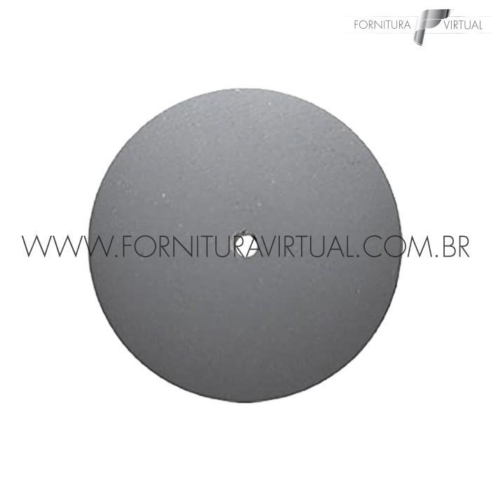 Disco abrasivo de silicone - Cinza Claro Faca 7924