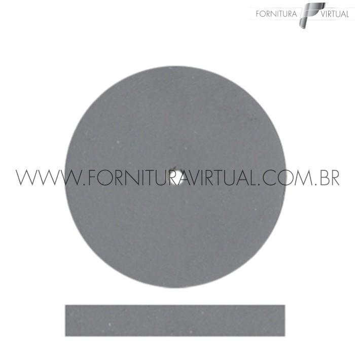 Disco abrasivo de silicone - Cinza Claro Reto 7922