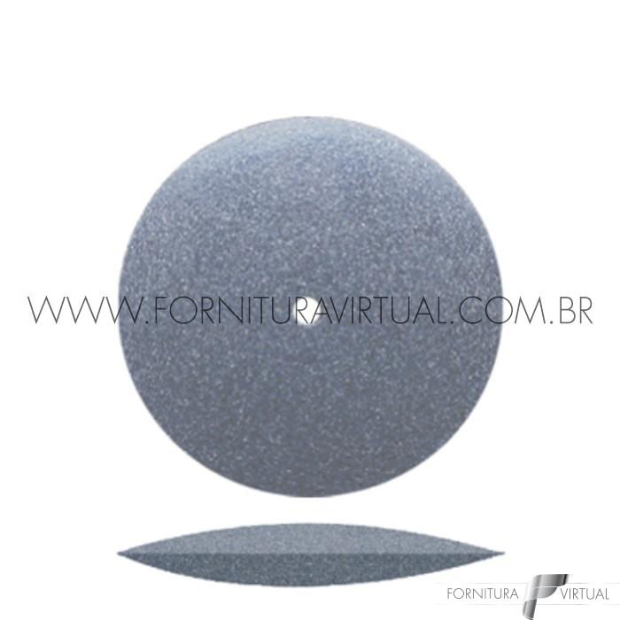 Disco abrasivo de silicone - Cinza Escuro Faca 7904