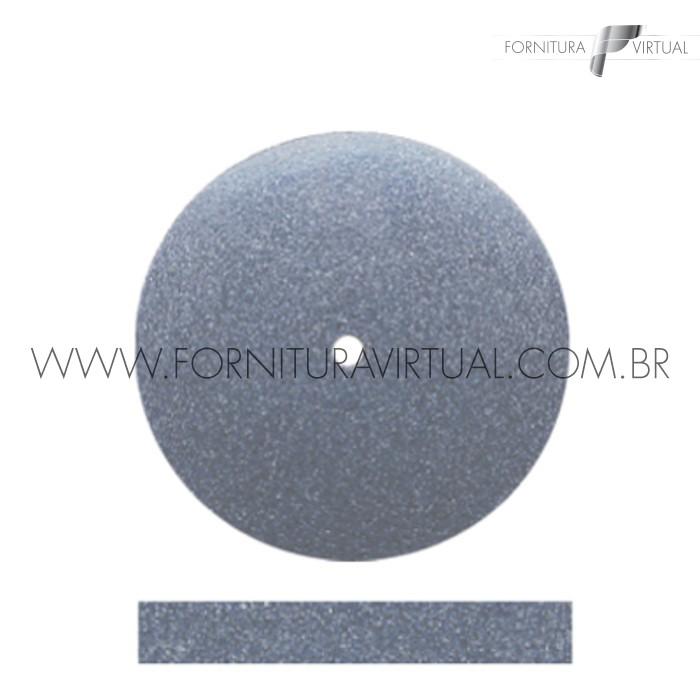 Disco abrasivo de silicone - Cinza Escuro Reto 7902