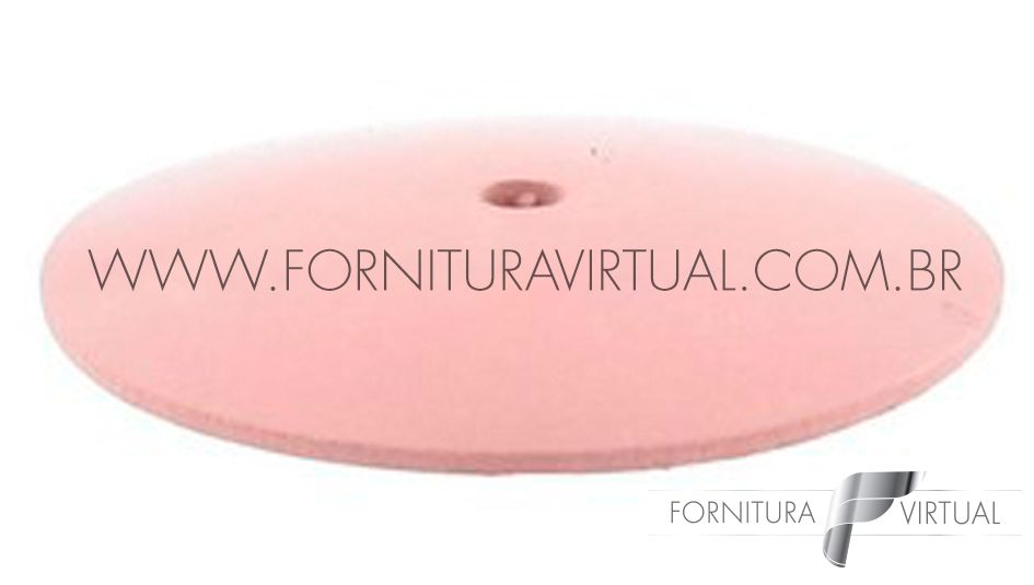 Disco abrasivo de silicone - Rosa Faca 7260