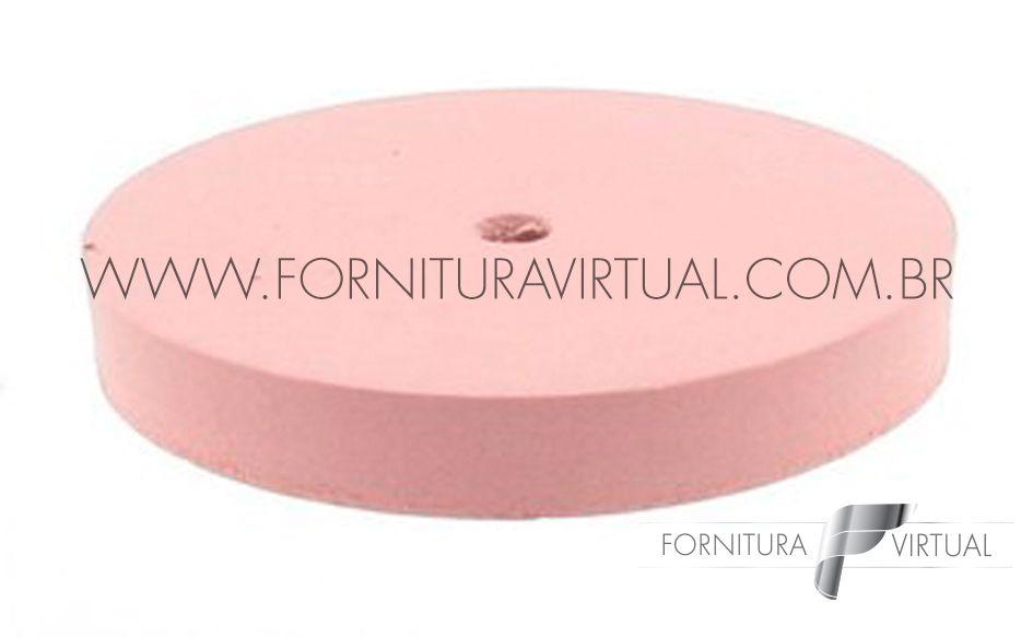 Disco abrasivo de silicone - Rosa Reto 7254