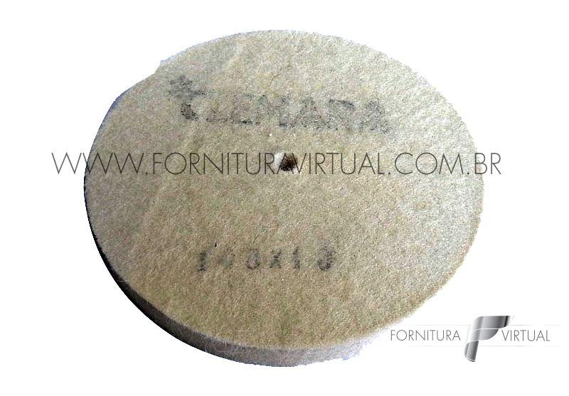 Disco de Feltro Clemara - 100mm x 10mm