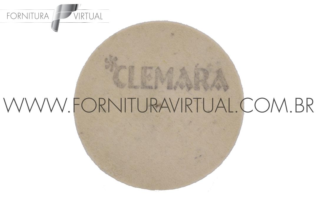 Disco de Feltro Clemara - 50mm x 10mm
