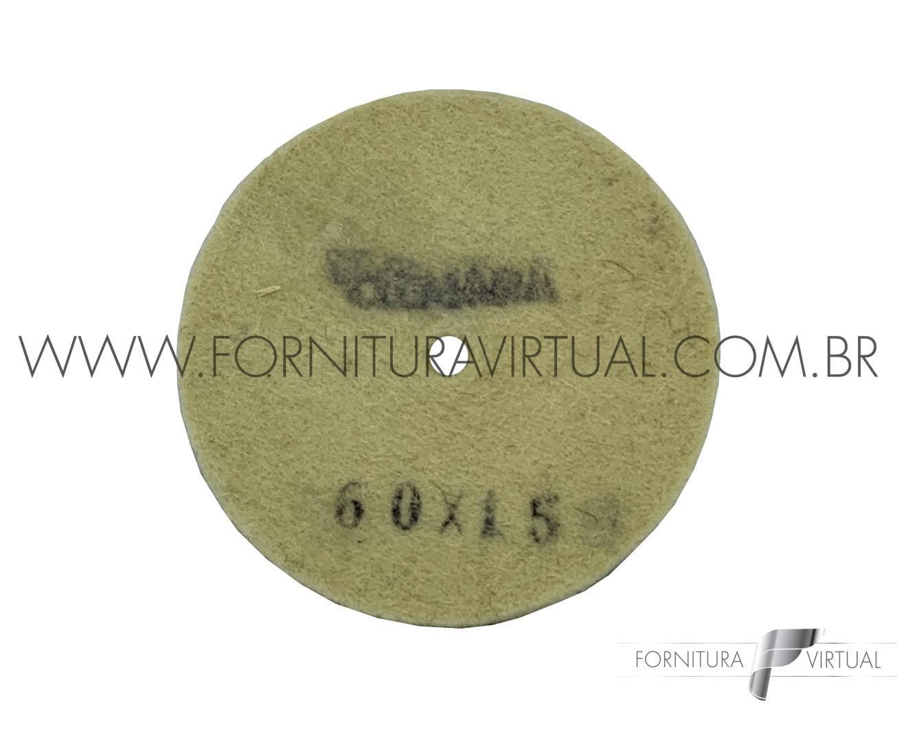 Disco de Feltro Clemara - 60mm x 15mm