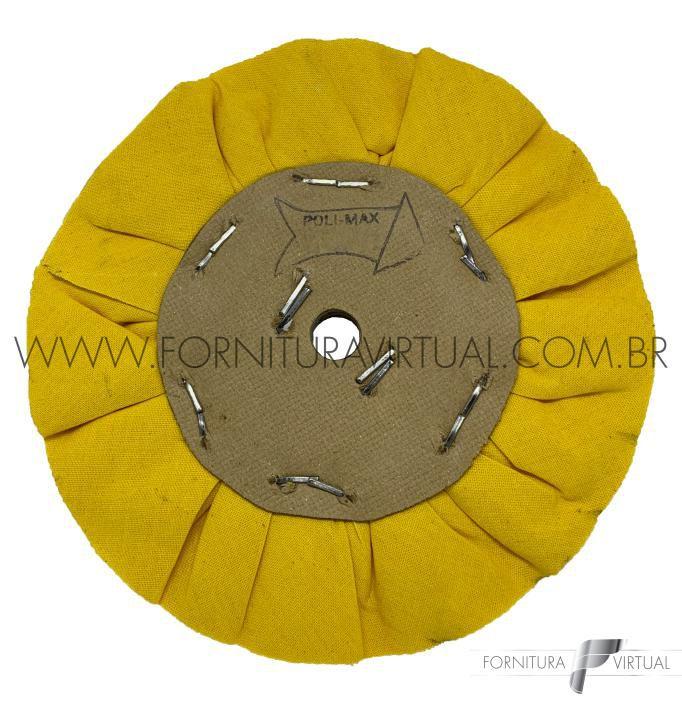 Escova de Polimento Ventilada Amarela