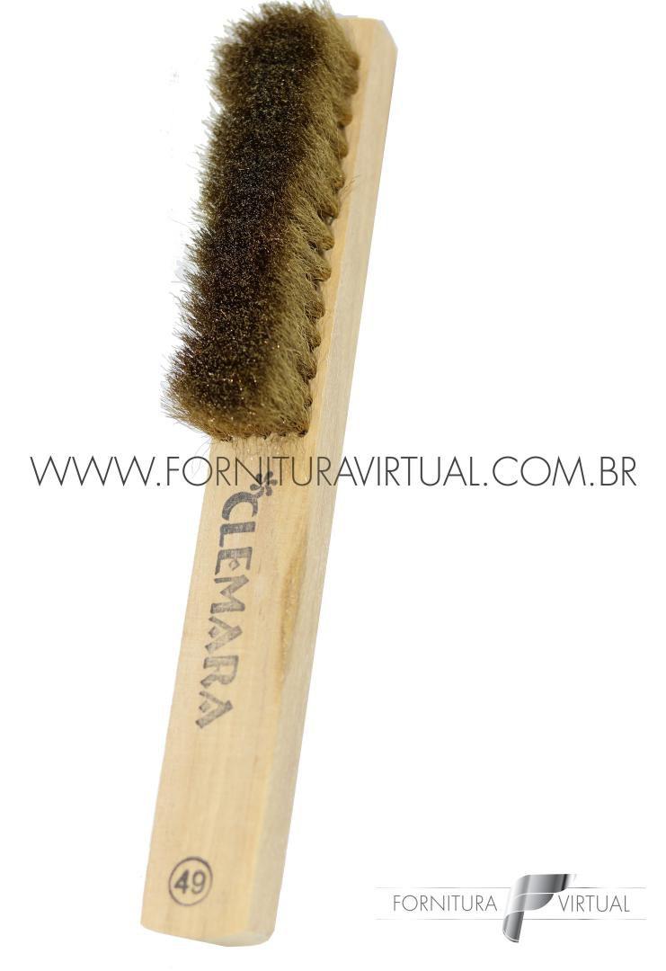 Escova Manual de Latão 5 Fileiras - Clemara