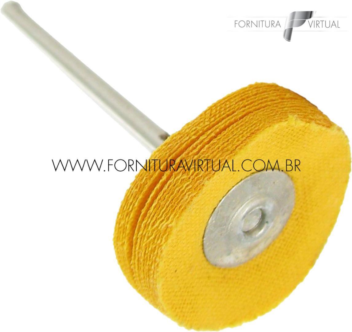 Escova Robinson de Algodão Amarelo