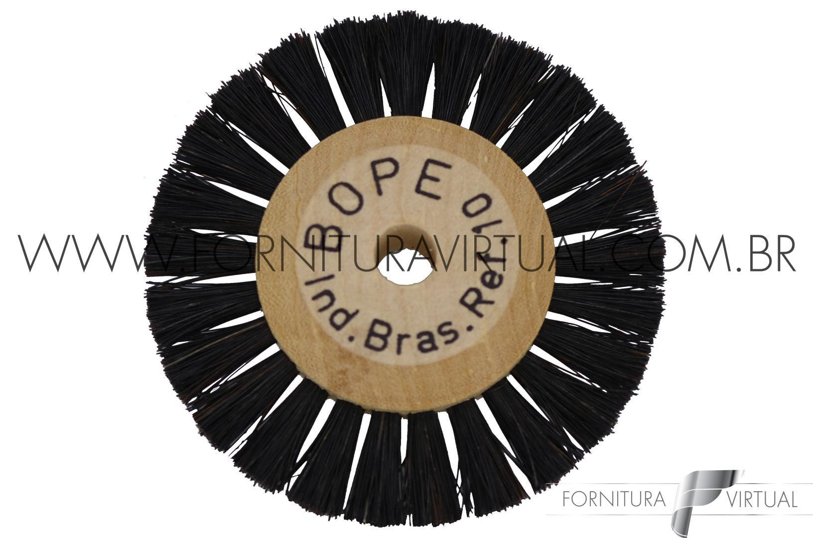 Escova Rotativa de Crina nº10 - BOPE