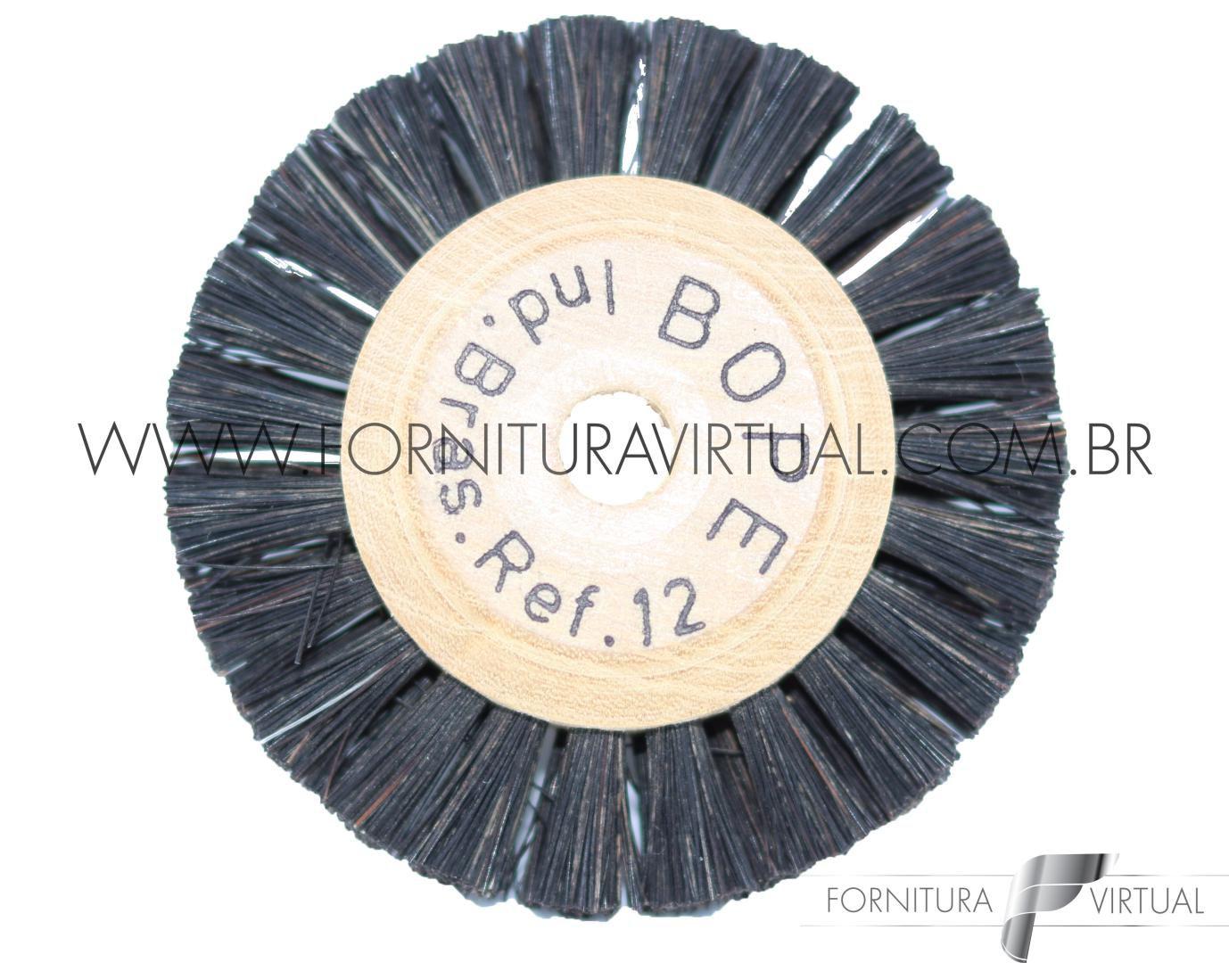 Escova Rotativa de Crina nº12 - BOPE