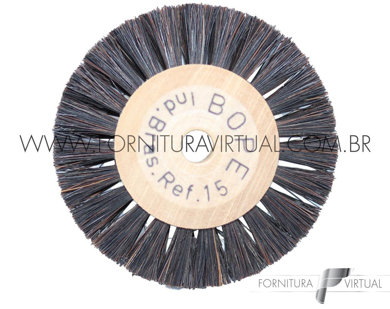 Escova Rotativa de Crina nº 15 - BOPE
