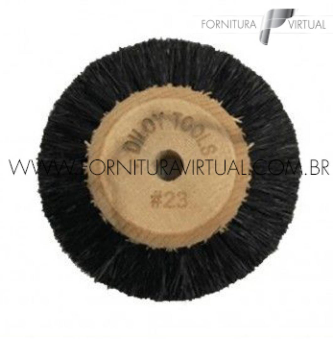 Escova Rotativa de Crina nº23 - Diloy