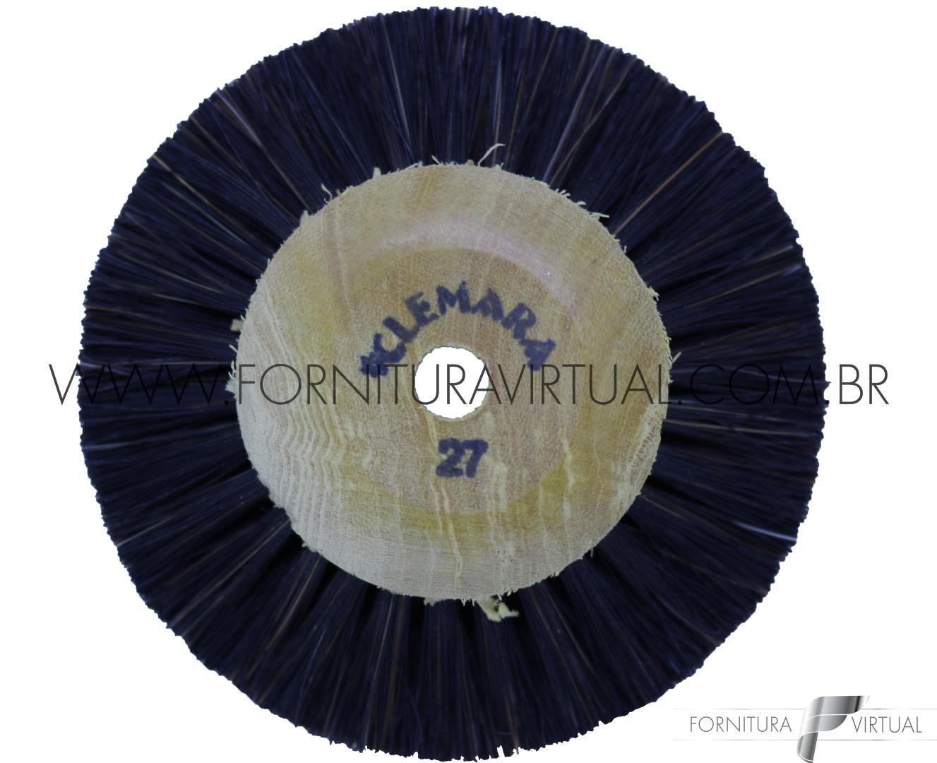Escova Rotativa de Crina nº27 - Clemara