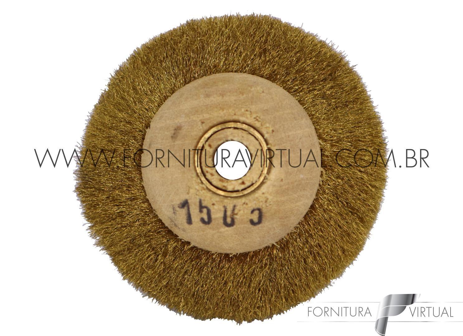 Escova Rotativa de Latão - 1505
