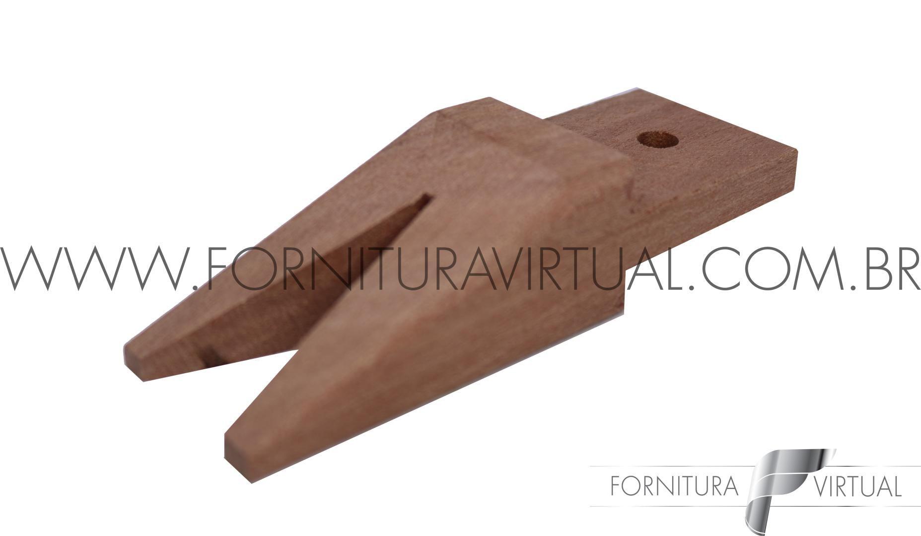 Estilheira de madeira Avulsa - Furada