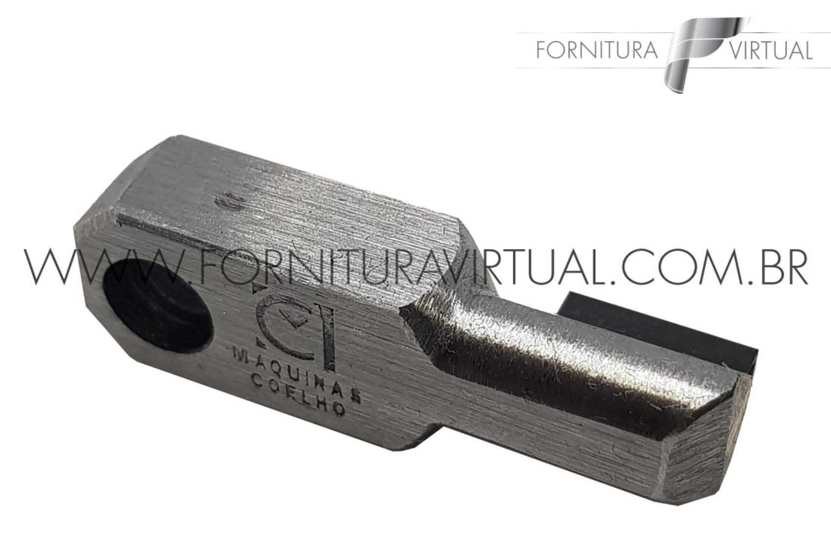 Ferramenta 180 graus x 11mm interna - Em policristalino(diamante sintético)