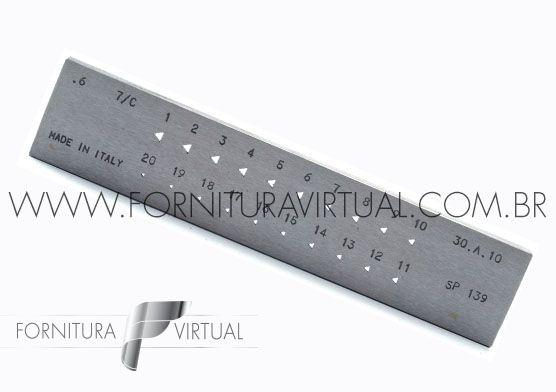 Fieira triangular italiana - 1 a 3mm