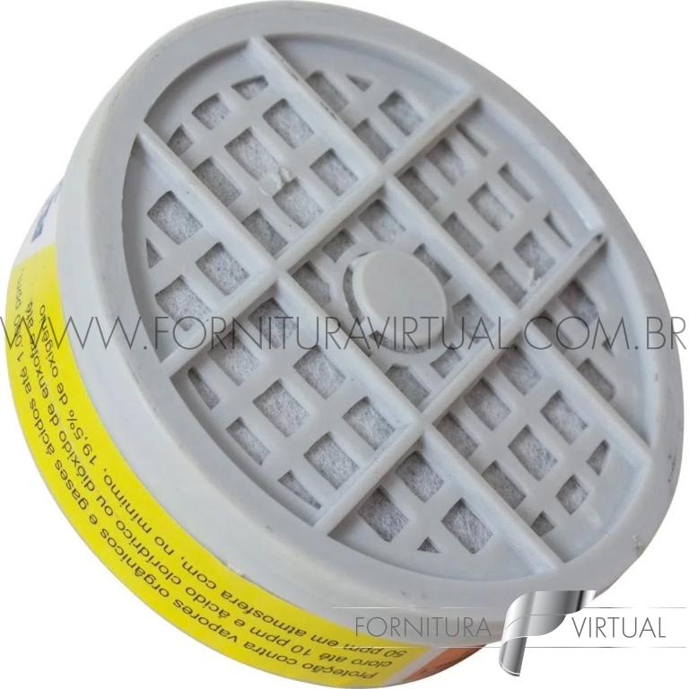 Filtro VO/GA com 4 peças para respirador PPR 14 PROTEPLUS 411,0002