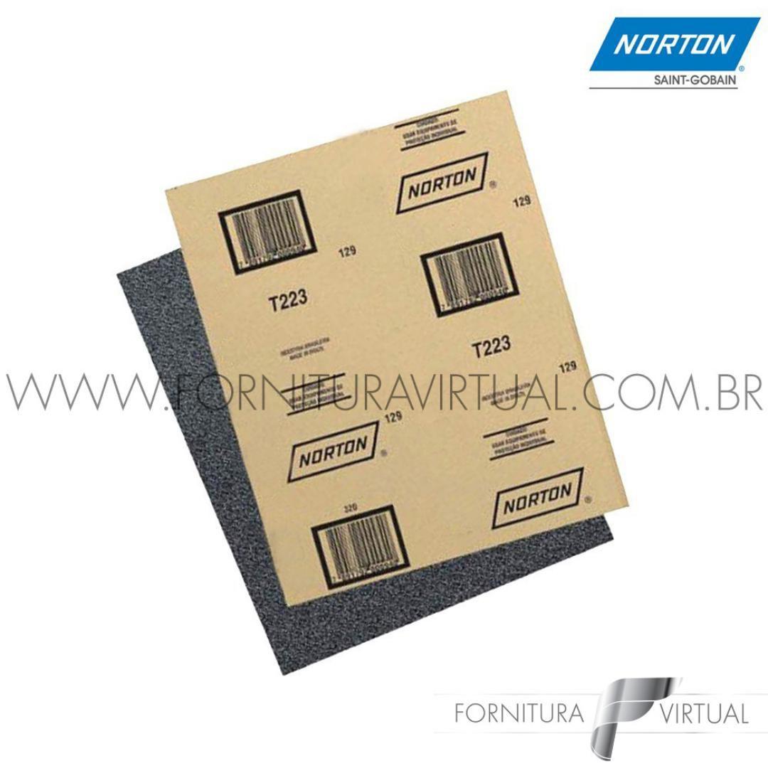 Folha de Lixa d'Água Norton T223