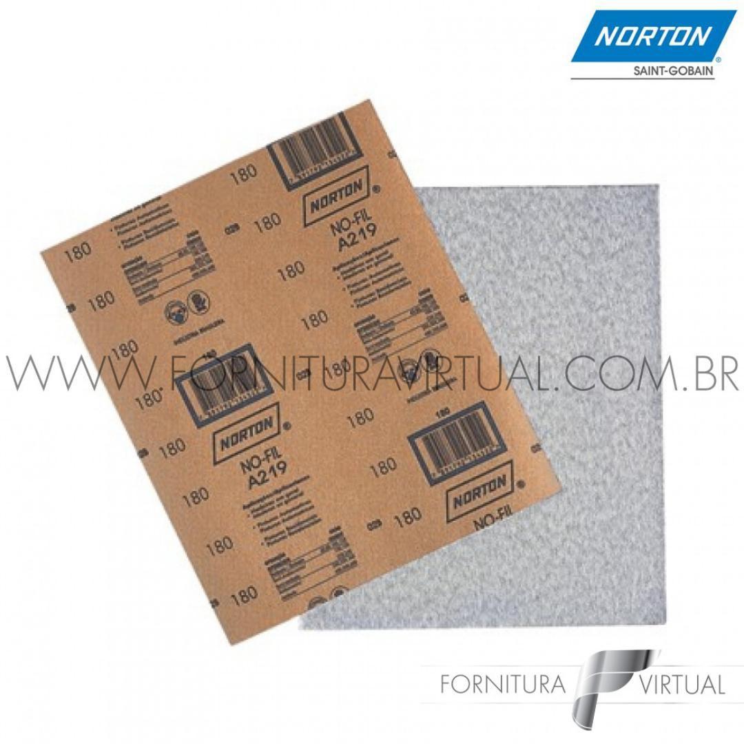 Folha de Lixa Norton No-Fil A219