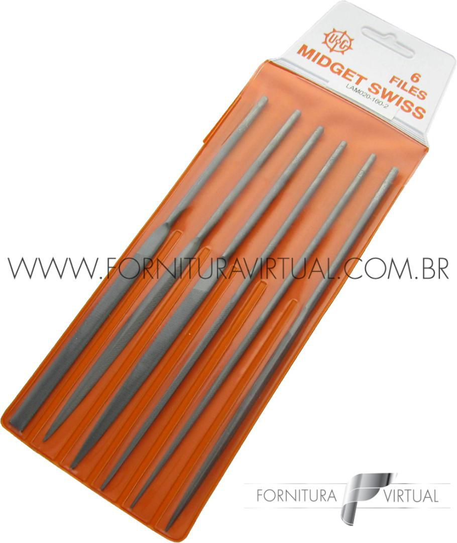 Jogo de Limas - Midget 160mm