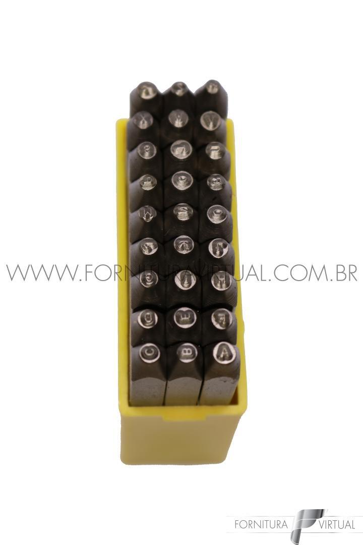 Jogo de Punção - Marcador Alfabeto 2mm