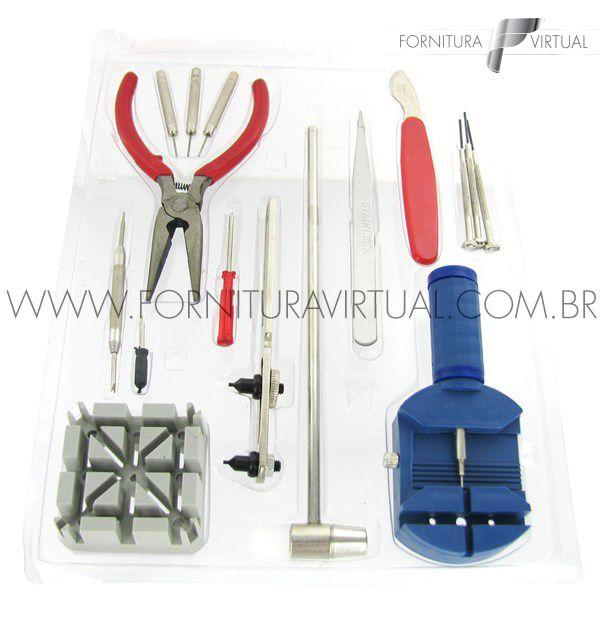 Kit básico para relojoeiro