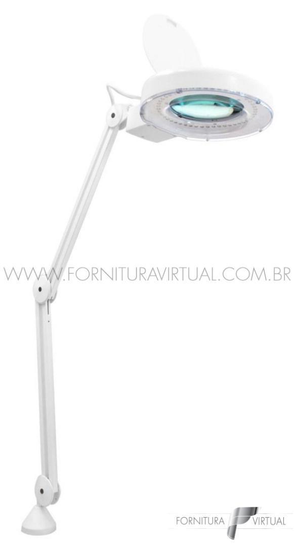 Lupa de Bancada LED - Solver HL-500 8D