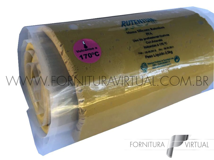 Massa Silicone Rutenium - PFA 170º 2,5KG