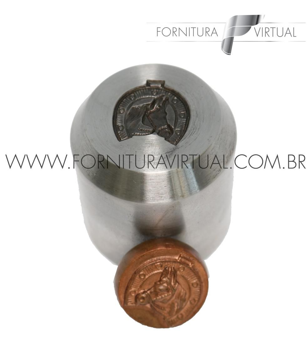 Matriz/Cunho Cavalo/Ferradura (Menor) - 20mm