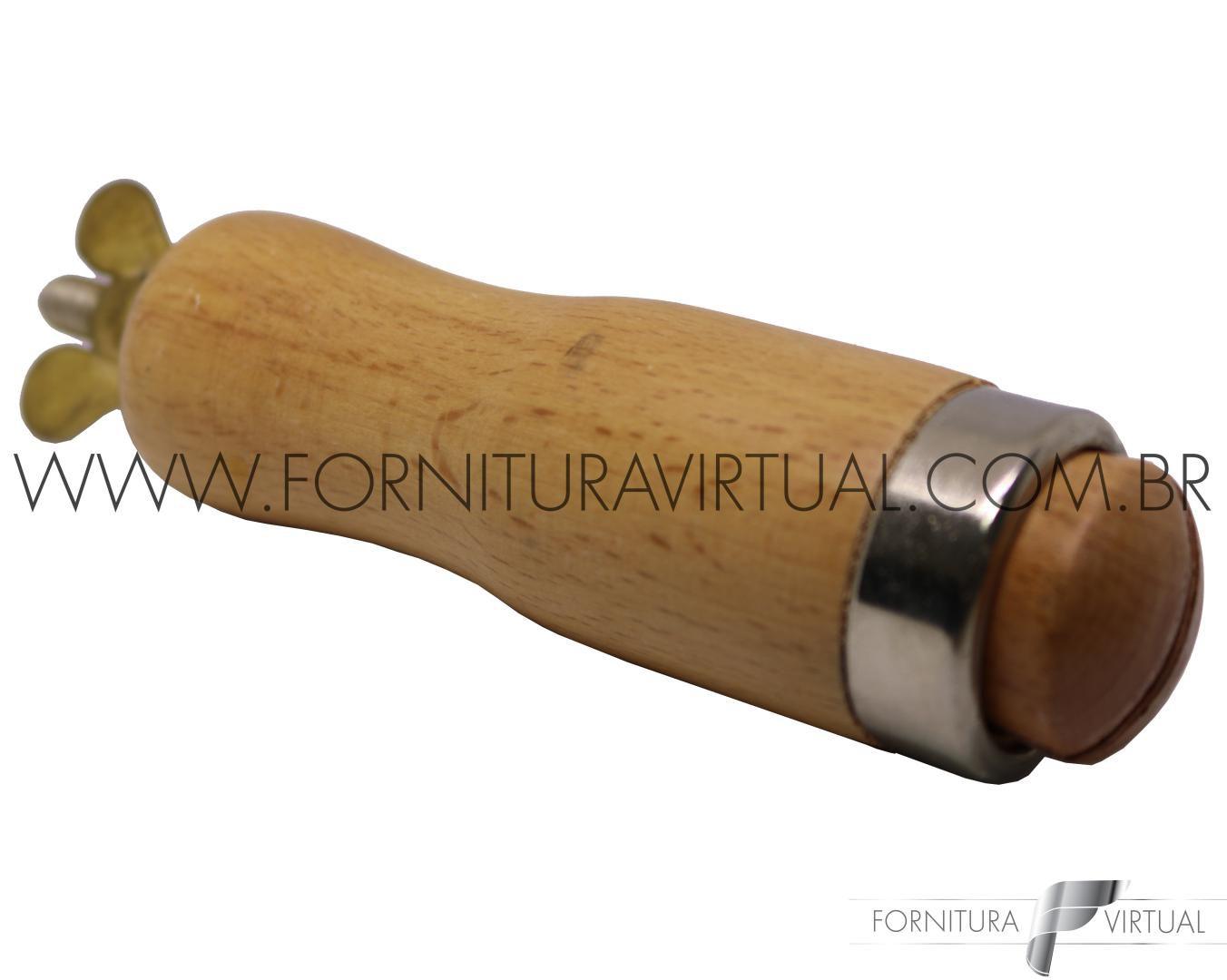 Morceto de Madeira com Borboleta - Modelo 02