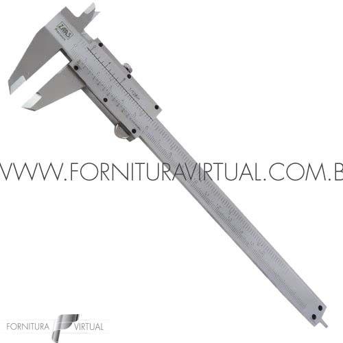 Paquímetro de aço analógico universal 150mm - ZAAS